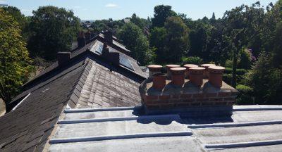 Heaton Mersey roofline