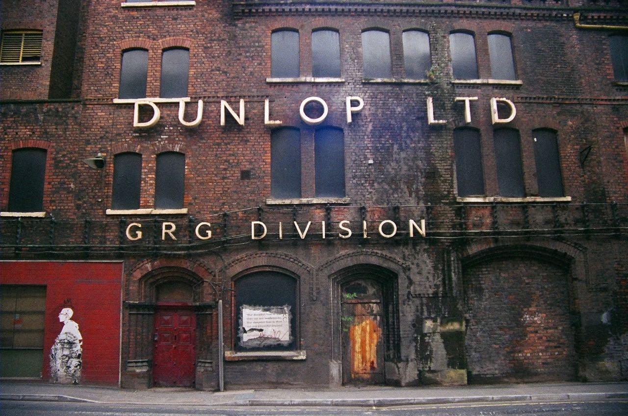 Dunlop building manchester