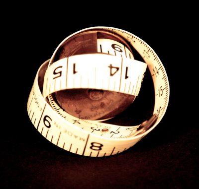 vintage tape measure