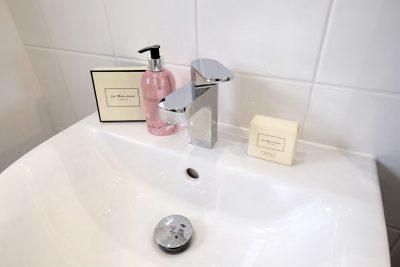 bathroom fitting detail