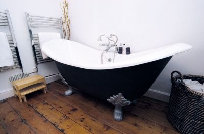 Vintage french double ended bath