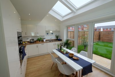 dining kitchen extension