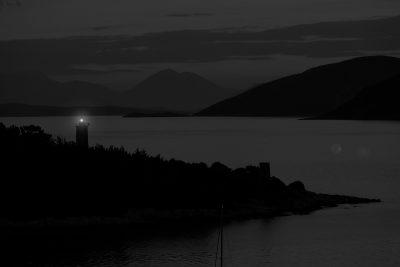 Kefalonia Harbor @ Night